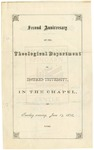 1873 - Howard University Theological Department Commencement