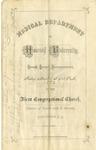 1872 - Howard University Medical Department Commencement