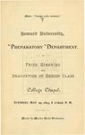 1894 - Howard University Preparatory Department Commencement