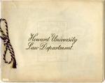 1898 - Howard University Law Department Commencement