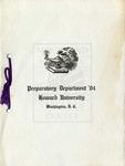 1904 - Howard University Preparatory Department Commencement