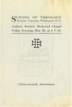 1904 - Howard University School of Theology Commencement