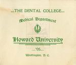 1905 - Howard University Dental College Commencement