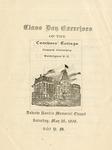 1906 - Howard University Teachers' College Commencement