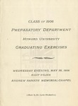 1906 - Howard University Preparatory Department Commencement