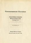 1908 - Howard University Teachers' College Commencement