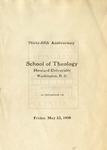 1908 - Howard University School of Theology Commencement