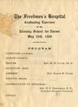 1908 - Freedmen's Hospital School for Nurses Commencement