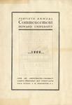 1909 - Howard University Commencement