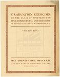 1910 - Howard University Commercial College Commencement
