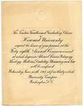 1917 - Howard University Commencement Official List of Graduates
