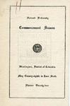 1924 - Howard University Commencement Program