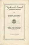 1926 - Howard University Commencement Program