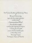 1934 - Howard University Commencement Program