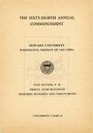 1937 - Howard University Commencement Program
