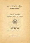 1938 - Howard University Commencement Program