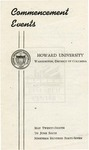 1947 - Howard University Commencement Program