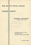 1953 - Howard University Commencement Program