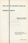 1965 - Howard University Commencement Program