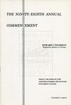 1966 - Howard University Commencement Program
