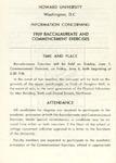 1969 - Howard University Commencement Program