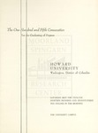 1973 - Howard University Commencement Program