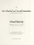 1975 - Howard University Commencement Program