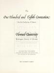 1976 - Howard University Commencement Program