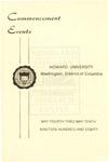 1980 - Howard University Commencement Program