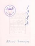 1985 - Howard University Commencement Program
