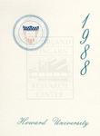 1988 - Howard University Commencement Program