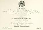 1990 - Howard University Commencement Program