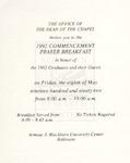 1992 - Howard University Commencement Program
