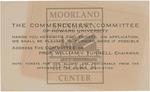 1936 - Howard University Commencement Program
