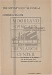 1946 - Howard University Commencement Program
