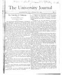 HU Journal, Volume 1 Issue 5