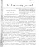 HU Journal, Volume 1 Issue 8