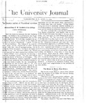 HU Journal, Volume 1 Issue 9