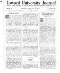 HU Journal, Volume 10 Issue 15