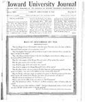 HU Journal, Volume 13 Issue 8