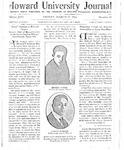 HU Journal, Volume 13 Issue 19