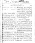 HU Journal, Volume 2 Issue 3