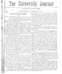 HU Journal, Volume 3 Issue 1