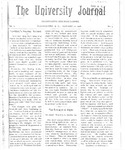 HU Journal, Volume 3 Issue 8