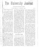 HU Journal, Volume 3 Issue 8