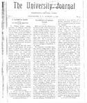 HU Journal, Volume 3 Issue 9