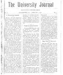 HU Journal, Volume 3 Issue 11