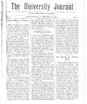 HU Journal, Volume 3 Issue 14