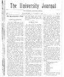 HU Journal, Volume 3 Issue 15