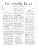 HU Journal, Volume 3 Issue 16